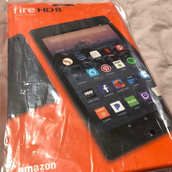 Fire HD8 with Alexa 16GB NIP NEVER OPENED